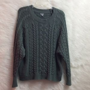 AERIE cable knit sweater.